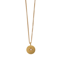 LITTLE STAR, Kette, 18 ct Gelbgold, Brillant